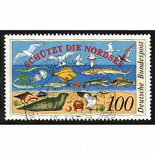 Buy German Used Scott #1598 Catalog Value $.60