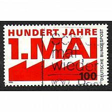 Buy German Used Scott #1599 Catalog Value $.60
