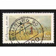Buy German Used Scott #1448 Catalog Value $.45
