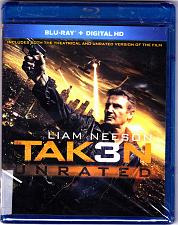 Buy Taken 3 - Blu-ray Disc 2015 Unrated - Brand New factory sealed