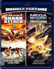 Buy 2-Headed Shark Attack / Mega Shark Vs Crocosaurus - Blu-ray Disc 2013 - Like New