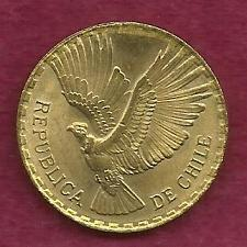 Buy CHILI 5 CENTESIMOS 1965 COIN - CONDOR IN FLIGHT