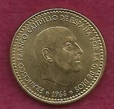Buy SPAIN 1 PESETA 1966 COIN