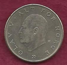 Buy NORWAY 1 Krone 1976, Olav V