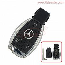 Buy Smart key case 3 button with battery holder for Mercedes Benz