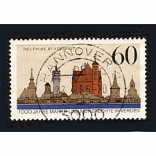 Buy German Used Scott #1436 Catalog Value $.30