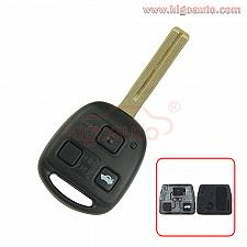 Buy Remote key 3 button TOY48 short 434Mhz for Lexus GX470