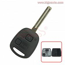 Buy Remote key 2 button TOY48 long for Lexus GX470 RX350 SC430 2007 2008 2009