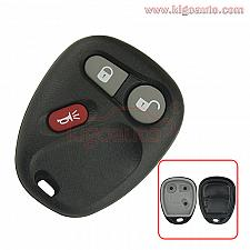 Buy Remote fob case 3 button for Buick Cadillac Chevrolet Pontiac GMC