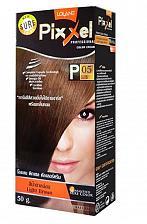 Buy X1 Lolane Pixxel P5 Brunette Light Brown Permanent Hair Dye Cream with Oxy Milk