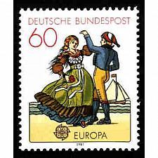 Buy German MNH Scott #1350 Catalog Value $.65