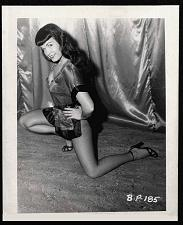 Buy BETTY PAGE LEGGY LEGS HI HEELS POSE VINTAGE IRVING KLAW 4X5 BP-185