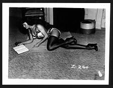 Buy BETTY PAGE SEXY SCORCHING FLOOR POSE VINTAGE IRVING KLAW PHOTO 4X5 Z-264 RARE