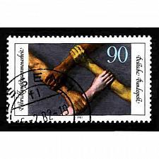 Buy German Used Scott #1356 Catalog Value $.45