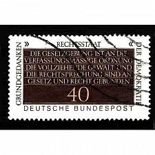 Buy German Used Scott #1358 Catalog Value $.25