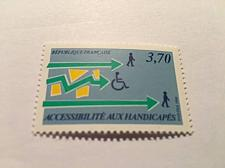 Buy France Disabled persons in society mnh 1988