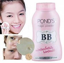 Buy Ponds BB Magic Powder Talc Vitamin B3 Matte Makeup UV UVB Protection Acne Scars