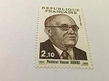Buy France Vincent Auriol mnh 1984