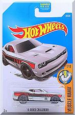 Buy Hot Wheels - '15 Dodge Challenger: Muscle Mania #7/10 - #48/365 (2017) *Silver*