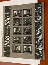 Buy France French Film Institute s/s mnh 1986