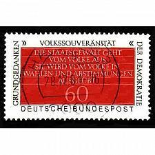 Buy German Used Scott #1360 Catalog Value $.25