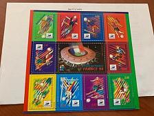 Buy France Soccer Games s/s mnh 1998