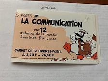 Buy France La communication booklet mnh 1988