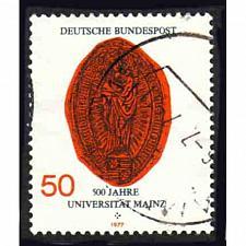 Buy German Used Scott #1252 Catalog Value $.30