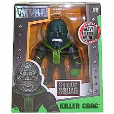 "Buy Jada: Metals Die Cast - Killer Croc: 4"" Figure #M168 (2016) *DC / Suicide Squad*"