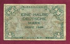 Buy GERMANY ( West Berlin) 1/2 Mark 1948 - Federal Republic Banknote