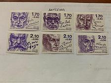 Buy France Famous Authors mnh 1985