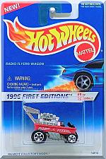 Buy Hot Wheels - Radio Flyer Wagon: 1996 First Editions #9/12 - Collector #374 *Red*