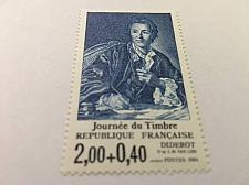Buy France Diderot Stamp Day mnh 1984