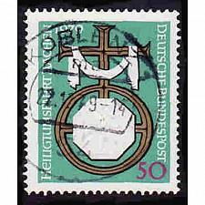 Buy German Used Scott #1297 Catalog Value $.30