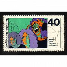 Buy German Used Scott #1200 Catalog Value $.30