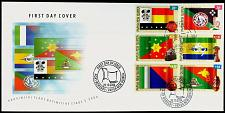 Buy Papua New Guinea PNG First Day Cover - 2004 Provincial Flags day of issue cancel