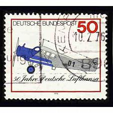 Buy German Used Scott #1207 Catalog Value $.30