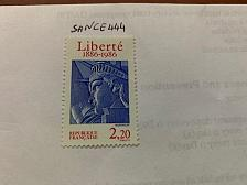 Buy France Statue of Liberty mnh 1986