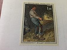 Buy France Art Painting Millet mnh 1971