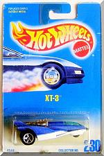 Buy Hot Wheels - XT-3: Collector #230 (1995) *Blue Edition*