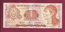 Buy Honduras 1 Lempira 2004 Banknote DE5085198