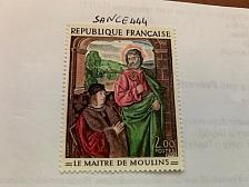 Buy France Art Painting Maitre de moulins mnh 1972