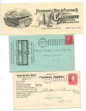 Buy - Bathroom Vintage - 4 Envelopes - Early 1900s