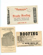 Buy - Roofing - 11 Envelopes - 4 Flyers (Very Fragile)