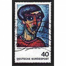 Buy German Used Scott #1137 Catalog Value $.25