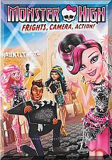 Buy DVD - Monster High: Frights, Camera, Action! (2014) *Draculaura / Clawdeen Wolf*
