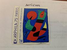 Buy France Art Painting Miro 1974 mnh