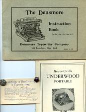 Buy Typewriters - 15 Letterheads - 7 Envelopes -1880s
