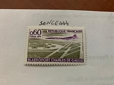 Buy France Airport Charles de Gaulle 1974 mnh