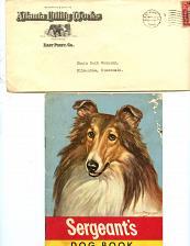 Buy - Dog-Related - 6 Letterheads - 5 Envelopes-1920s-1950s